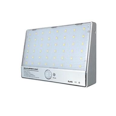Lumina solară lămpile de perete integrate 48 a condus lumina senzorului de corp aluminiu