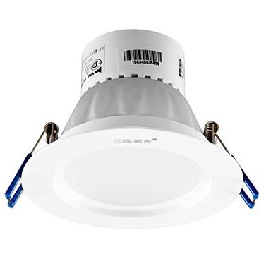 1pc 4w led lumina de jos celing lumina cald alb ac220v gaura de dimensiune 80mm 4000k