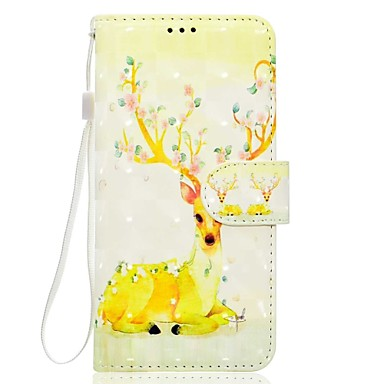 Maska Pentru Samsung Galaxy S8 Plus S8 Titluar Card Portofel Cu Stand Carcasă Telefon Animal Moale PU piele pentru S8 Plus S8 S7 edge S7