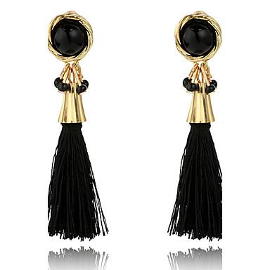 Damen Tropfen-Ohrringe Personalisiert Luxus Quaste Klassisch Böhmische Grundlegend Handgemacht Elegant nette Art Modisch Simple Style