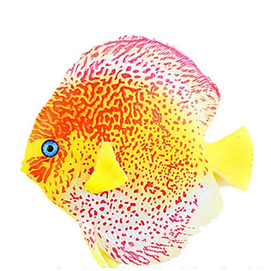 Aquarium Decoratie Kunstmatige vis Lichtgevend Siliconen