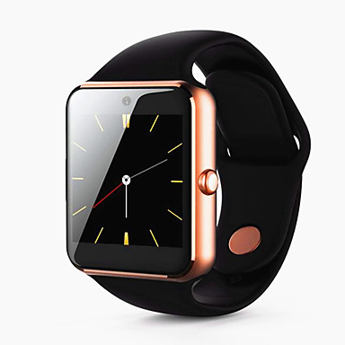 olcso Okos órák-Intelligens Watch mert iOS / Android Kéz nélküli hívások / Érintőképernyő / Videó / Fényképezőgép / Lépésszámlálók Lépésszámláló / Hívás emlékeztető / Alvás nyomkövető / ülő Emlékeztető / Hol a