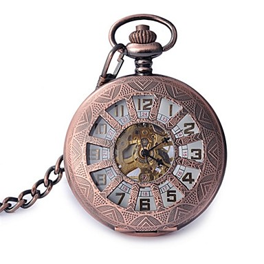 Bărbați Ceas de buzunar Mecanism automat Aliaj Bandă Roz auriu