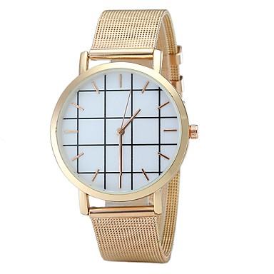 Bărbați Pentru femei Unic Creative ceas Ceas La Modă Ceas de Mână Chineză Quartz Aliaj Bandă Charm Vintage Casual Elegant Negru Argint
