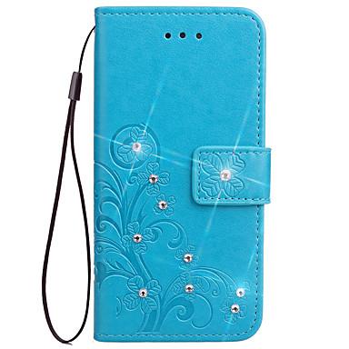 hoesje Voor Samsung Galaxy S8 Plus S8 Kaarthouder Portemonnee met standaard Volledig hoesje Effen Hard PU-nahka voor S8 Plus S8 S7 edge