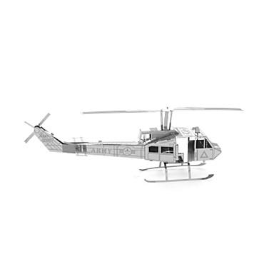 Puzzle Puzzle Metal Rezervor Aeronavă Elicopter 3D Reparații Articole de mobilier Teak MetalPistol 6 ani și peste