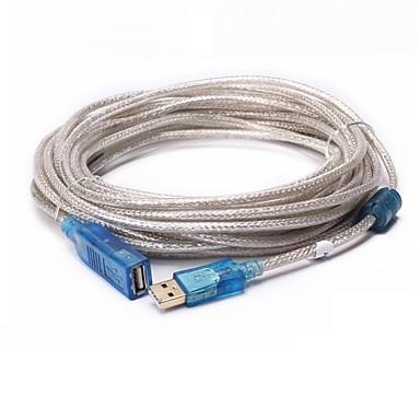 USB 2.0 Verlängerungskabel, USB 2.0 to USB 2.0 Verlängerungskabel Male - Female 10.0M (30Ft)