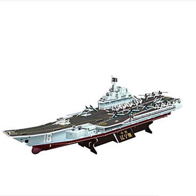 3D - Puzzle Holzpuzzle Kriegsschiff Flugzeugträger Papier Kinder Unisex Geschenk
