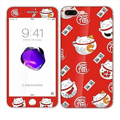 Protetor de Tela para Apple iPhone 6s Plus iPhone 6 Plus Vidro Temperado Protetor Frontal e Traseiro Protetor de Tela Integral Resistente