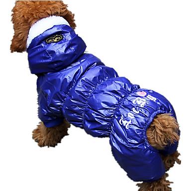كلب حللا ملابس الكلاب كاجوال/يومي قلوب رمادي أحمر أزرق كوستيوم للحيوانات الأليفة