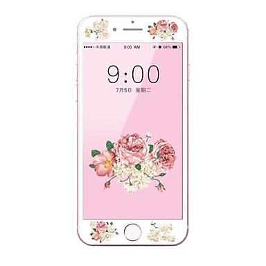 Ecran protector Apple pentru iPhone 6s Plus iPhone 6 Plus Sticlă securizată 1 piesă Ecran Protecție Întreg 3D Muchie Curbată Rezistent la