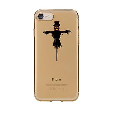 Maska Pentru Apple iPhone 7 Plus iPhone 7 Model Capac Spate Halloween Moale TPU pentru iPhone 7 Plus iPhone 7 iPhone 6s Plus iPhone 6s