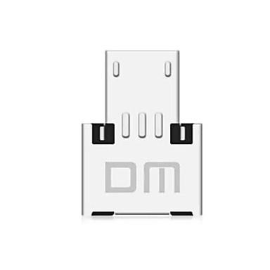 Dm usb la micro usb adaptor masculin otg pentru usb stick / telefon / tableta etc