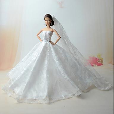 الفساتين فستان إلى الدمية باربي فساتين إلى لفتاة دمية لعبة