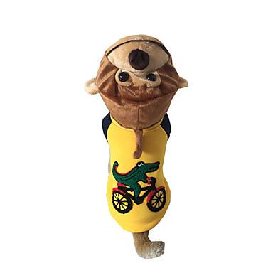 Câine Costume Îmbrăcăminte Câini Cosplay Animal Maro