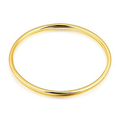 Pentru femei Brățări Bangle Zirconiu Cubic Lux De Bază Modă Adorabil Zirconiu Placat Auriu Placat Cu Aur Roz Circle Shape Bijuterii