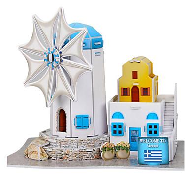 3D - Puzzle Holzpuzzle Papiermodel Spielzeuge Berühmte Gebäude Architektur 3D Naturholz Unisex Stücke