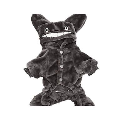 Câine Costume Îmbrăcăminte Câini Cosplay Desene Animate Gri