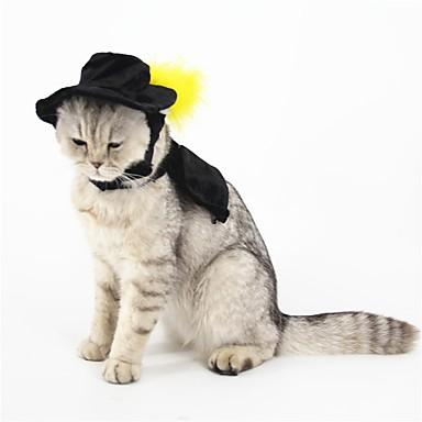 Kat Hond kostuums Haaraccessoires Hondenkleding Cosplay Effen Kostuum Voor huisdieren
