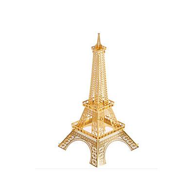 تركيب تركيب معدني برج بناء مشهور 3D اصنع بنفسك نحاس الحديد معدن للجنسين هدية