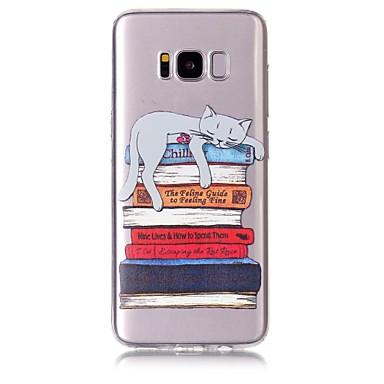 Maska Pentru Samsung Galaxy S8 Plus S8 Model Carcasă Spate Pisica Moale TPU pentru S8 S8 Plus S7 edge S7 S6 edge S6
