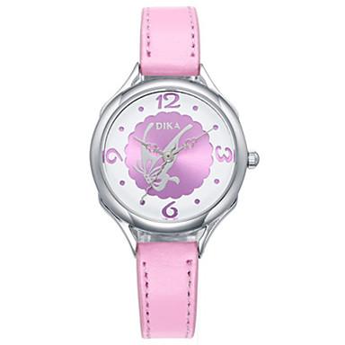 Dames Modieus horloge Kwarts PU Band Wit Blauw Roze Paars