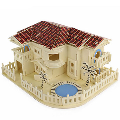 Puzzle 3D Puzzle Modele de Lemn Arhitectură 3D Reparații Simulare Lemn Lemn natural Gril pe Kamado 6 ani și peste