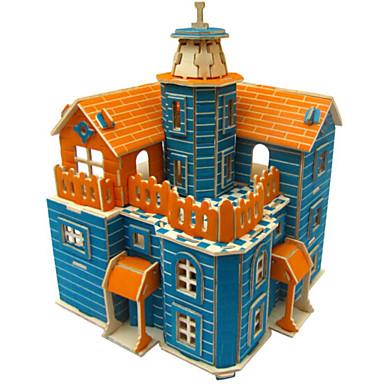3D-puzzels Legpuzzel Houten modellen Simulatie DHZ Hout Natuurlijk Hout Unisex Geschenk