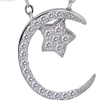 للمرأة قلائد الحلي مجوهرات Geometric Shape سبيكة موضة شخصية مجوهرات من أجل زفاف حزب عيد ميلاد يوميا