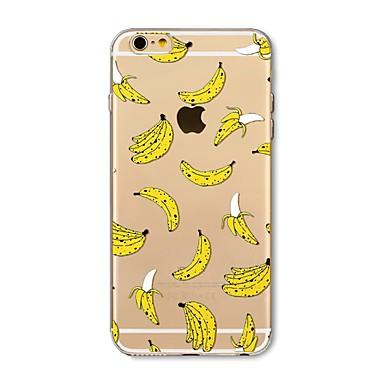 Hülle Für Apple iPhone X iPhone 8 Plus Transparent Muster Rückseite Anwendung Frucht Weich TPU für iPhone X iPhone 8 Plus iPhone 8 iPhone