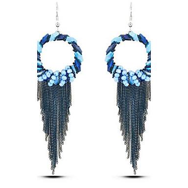 Pentru femei Cercei Stud Vintage Boem Supradimensionat Aliaj Rotund Bijuterii Pentru Scenă Concediu Ieșire