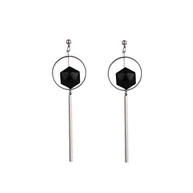 Kwastje / Geometrisch Druppel oorbellen - Gepersonaliseerde, Klassiek, Vintage Zilver Voor Bruiloft / Feest / Verjaardag