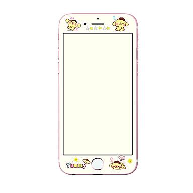 Ecran protector Apple pentru iPhone 6s iPhone 6 Sticlă securizată 1 piesă Ecran Protecție Întreg 3D Muchie Curbată Model La explozie 9H