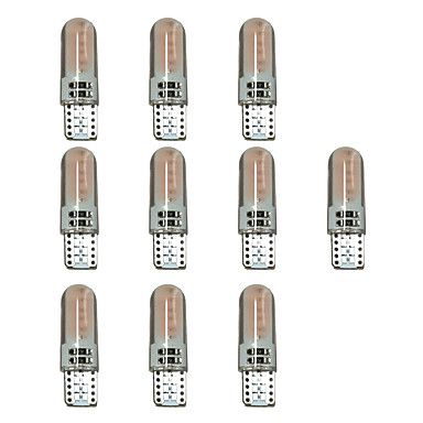 10 stuks T10 Automatisch Lampen 1.5W COB 110lm LED-Lampen Richtingaanwijzerlicht