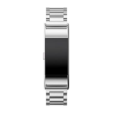 Aço Inoxidável Pulseiras de Relógio Alça Prata 20cm / 7.9 Polegadas 2cm / 0.8 Polegadas