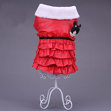 Katze Hund Kleider Hundekleidung Cartoon Design Orange Rot Blau Baumwolle Daune Kostüm Für Haustiere Herrn Damen Lässig / Alltäglich