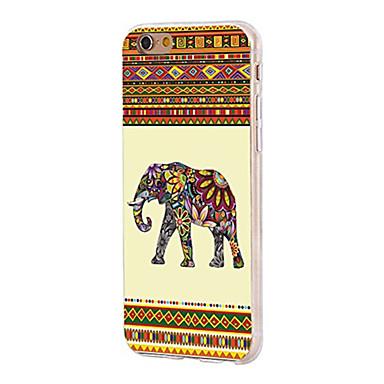 Pentru iPhone X iPhone 8 Carcase Huse Ultra subțire Model Carcasă Spate Maska Animal Elefant Moale TPU pentru Apple iPhone X iPhone 8