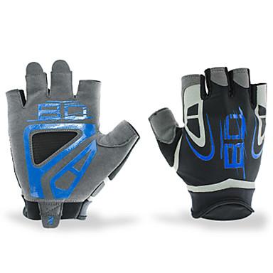 BOODUN/SIDEBIKE® Rękawiczki sportowe Rękawiczki rowerowe Zdatny do noszenia Oddychający Wearproof Ochronne Bez palców Lycra Fitness Męskie