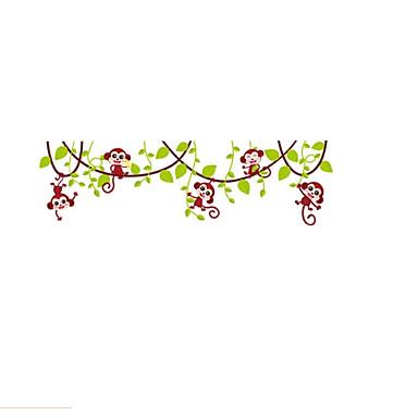 Animale Romantic Florale Perete Postituri Autocolante perete plane Autocolante de Perete Decorative, Hârtie Vinil Pagina de decorare de
