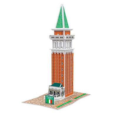 Puzzle 3D Puzzle Modelul de hârtie Clădire celebru Casă Arhitectură 3D Reparații Hârtie Rigidă pentru Felicitări 6 ani și peste