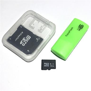 Card de memorie de 32 GB microsdhc tf cu cititor de carduri usb și adaptor sdhc sd