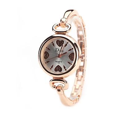 Pentru femei Quartz Simulat Diamant Ceas Ceas de Mână Chineză imitație de diamant Aliaj Bandă Charm Heart Shape Casual Ceas Elegant