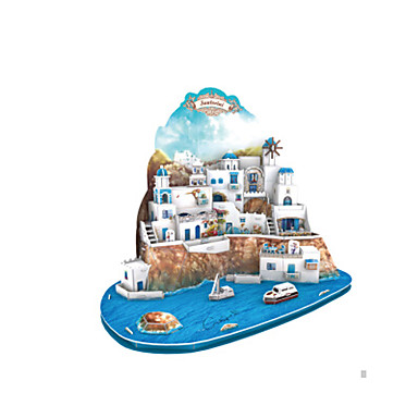 Puzzle 3D Puzzle Jucarii Clădire celebru Arhitectură 3D EPS+EPU Ne Specificat Bucăți