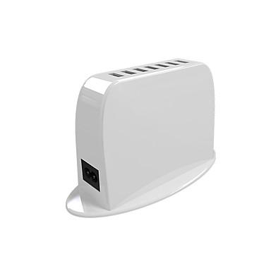 Încărcător USB 7 Porturi Stație încărcător de birou Cu identificare inteligentă Priză UK Adaptor de încărcare