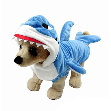 Câine Costume Îmbrăcăminte Câini Cosplay Desene Animate Albastru Deschis