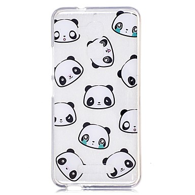 Maska Pentru Xiaomi Transparent Model Capac Spate Panda Desene Animate Moale TPU pentru Xiaomi Redmi Note 4 Xiaomi Redmi Note 3