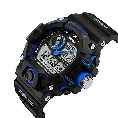 Uita-te inteligent Rezistent la Apă Standby Lung Multifuncțional Sporturi Cronometru Ceas cu alarmă Cronograf Calendar Zone Duale de Timp