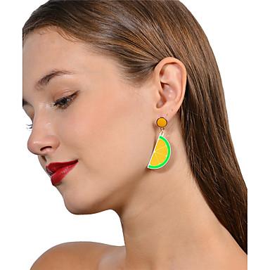 Pentru femei Cercei Rotunzi Personalizat Modă Bling bling Aliaj Fruct Bijuterii Zilnic Casual Stradă Ieșire