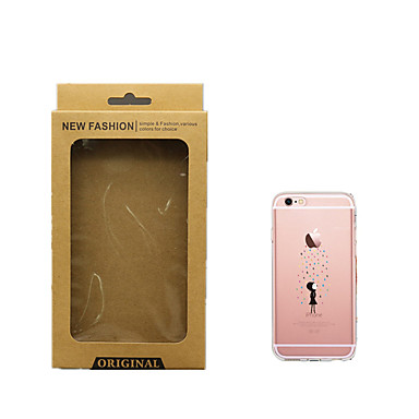 Apple Morbido per 7 Per 7 retro Per disegno 7 Transparente Custodia animati Apple 06133866 iPhone Fantasia Cartoni TPU iPhone Plus logo Con iPhone w6tTHF