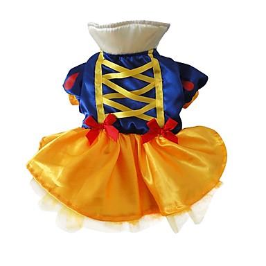 Hond kostuums Hondenkleding Cosplay Prinses Blauw